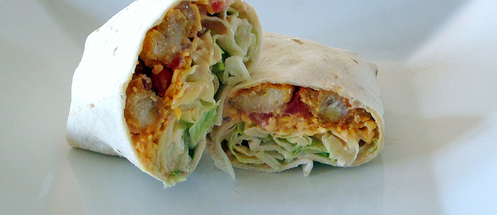 Buffalo Chicken Wrap Recipe — Dishmaps