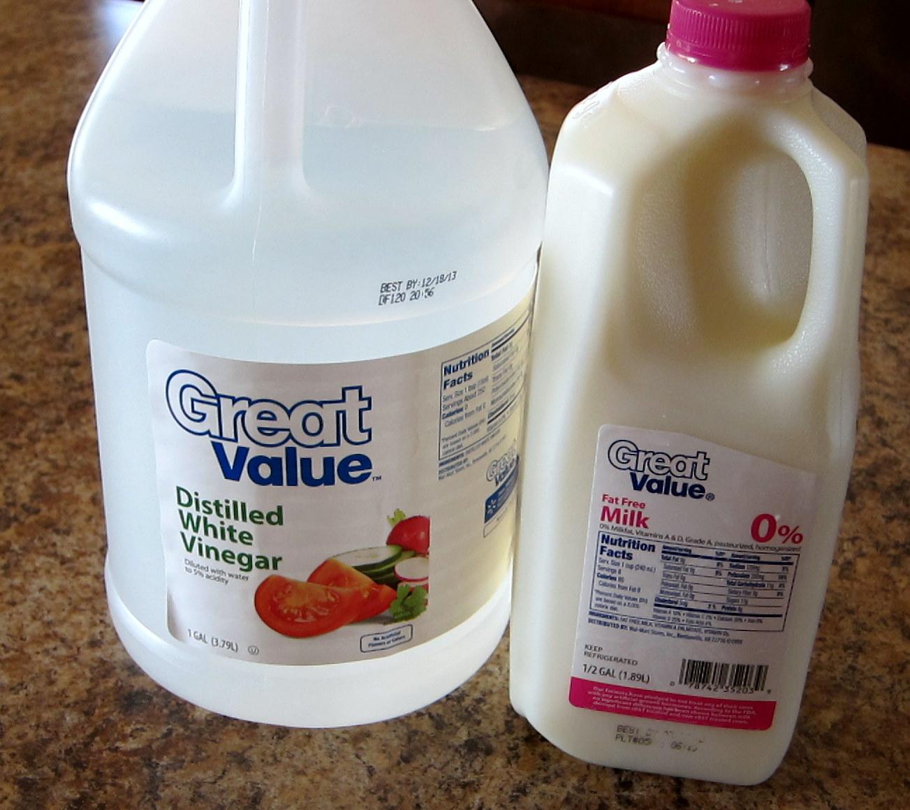 using milk instead of buttermilk